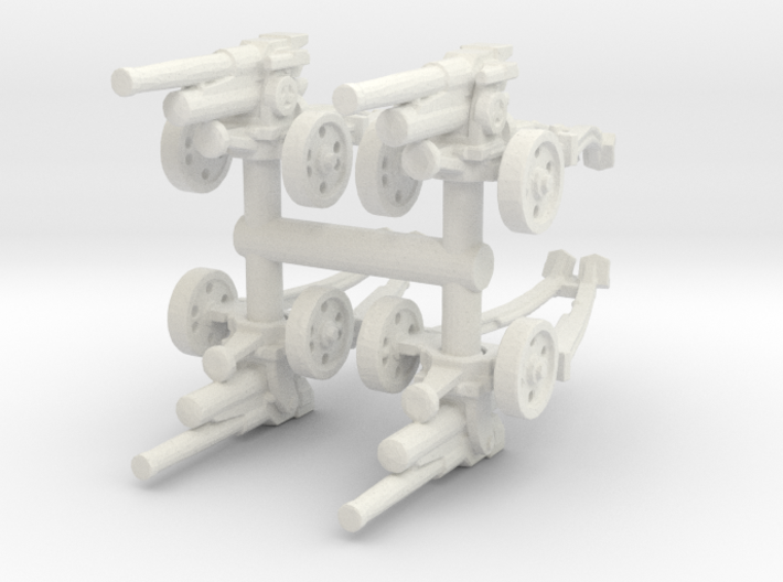 Cannone 47/32 Towed (x4) 1/120 3d printed