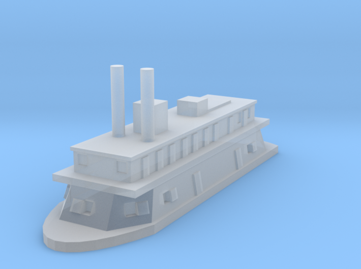 1/1200 USS Paw Paw 3d printed