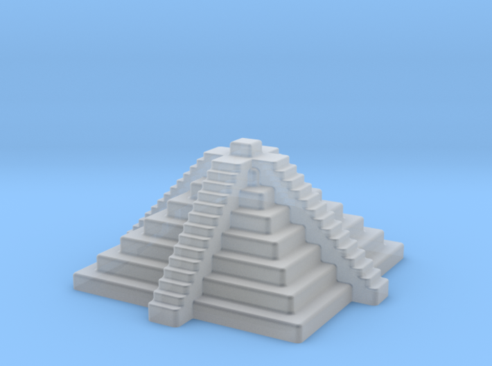 2mm / 3mm Scale Temple Steps 3d printed