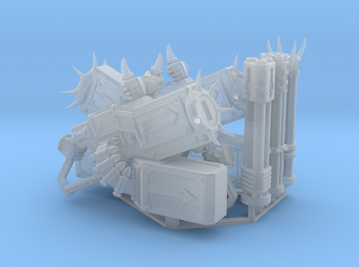 Corrupted Prime Gatling Cannon 3d printed