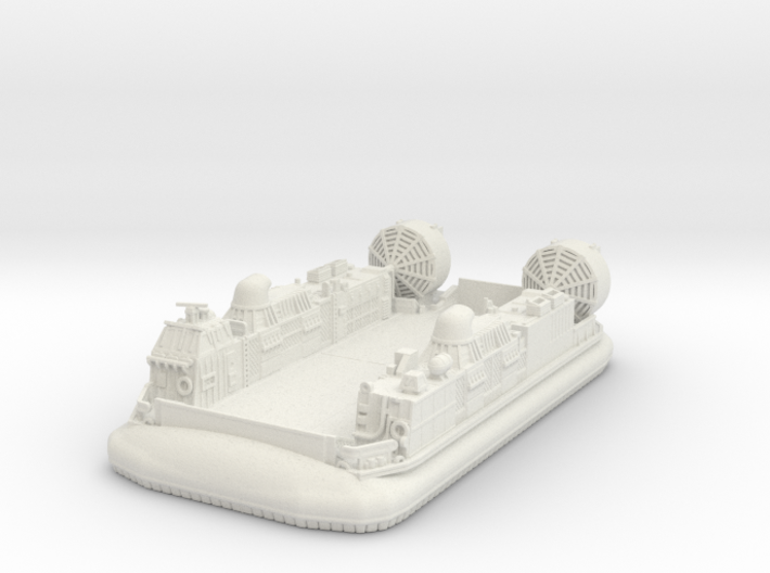 LCAC Hovercraft Vehicle 1/220 3d printed
