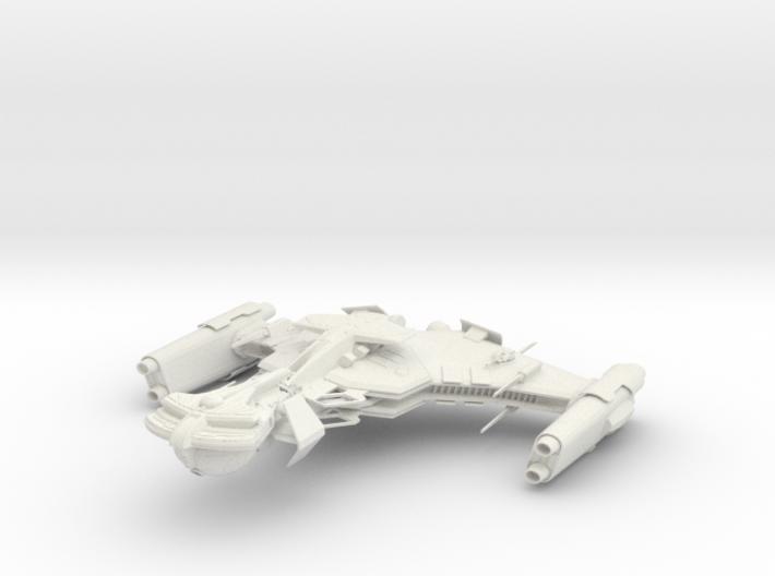 Klingon Norcar Class I BattleDestoryer 3d printed