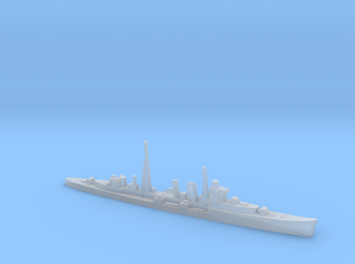 HMS Colombo AA cruiser (masts) 1:1800 WW2 3d printed