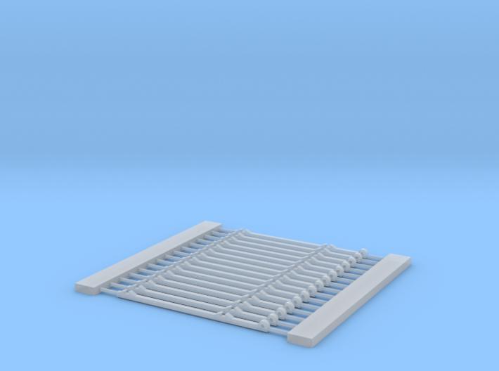 S scale Standard Gauge code 55 bridle 3d printed