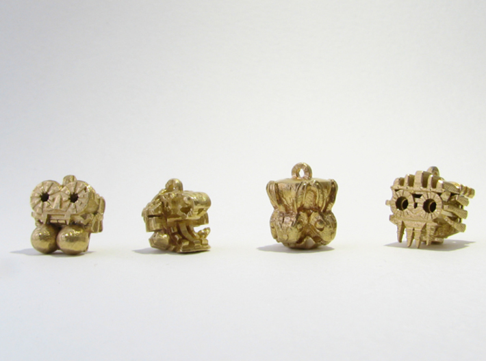 Aztec Bead Chantico FA 3d printed All four idols