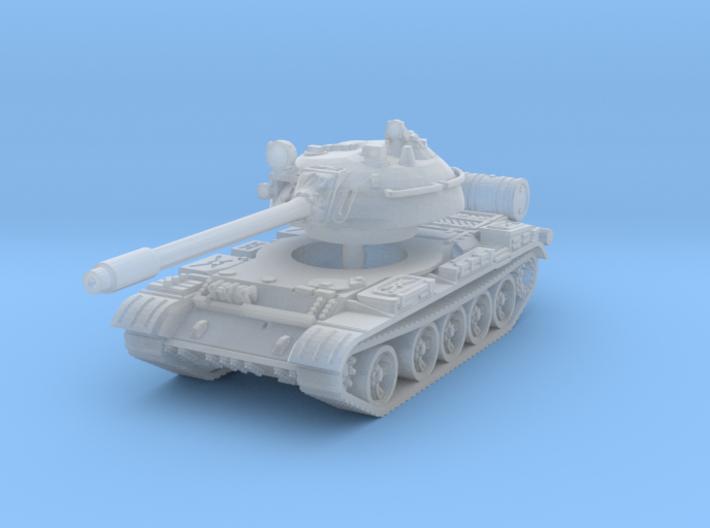 T55 Tank 1/220 3d printed