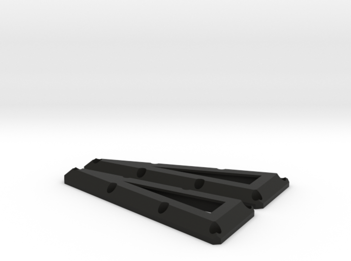 Traxxas Tactical unit Rear Port window guard pair 3d printed