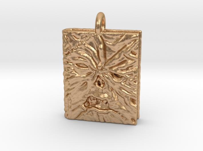 Necronomicon Exmortis Pendant necklace allmaterial 3d printed