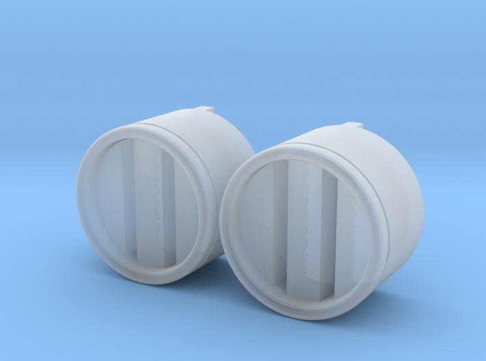 Moebius EVA Pod: Pipe Thingies Vertical 3d printed