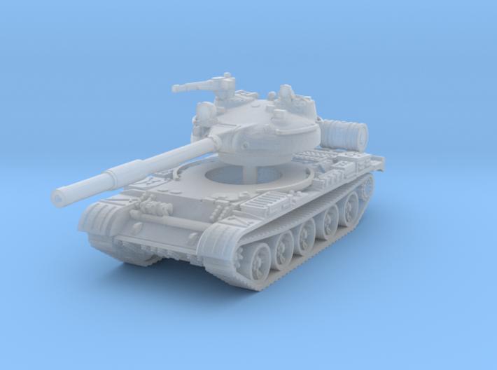 T62 Tank 1/160 3d printed