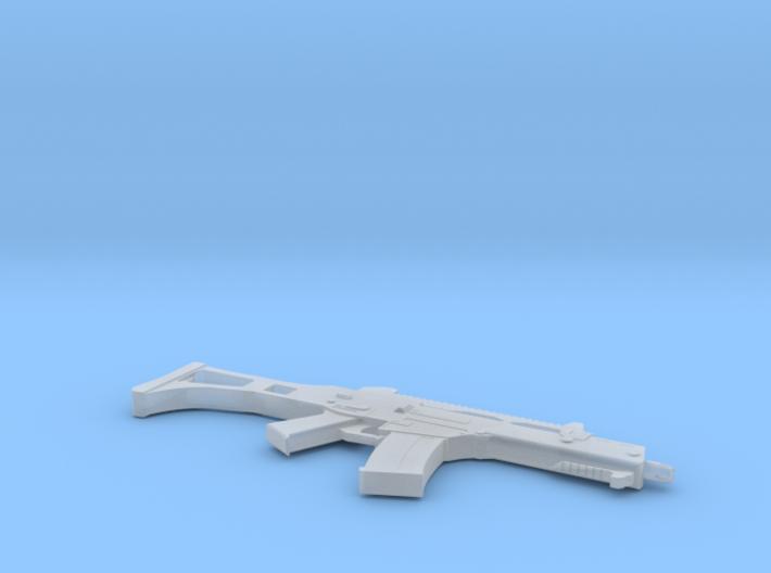1:6 Miniature Heckler & Koch G36C Assault Rifle 3d printed