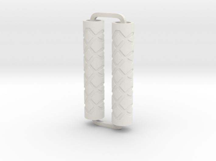 Slimline Pro loops 02 engraved ARTG 3d printed