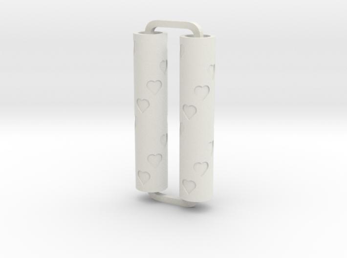 Slimline Pro hearts 01 ARTG 3d printed