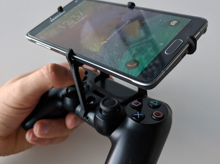 PS4 controller & Huawei P30 - Over the top 3d printed Over the top - top