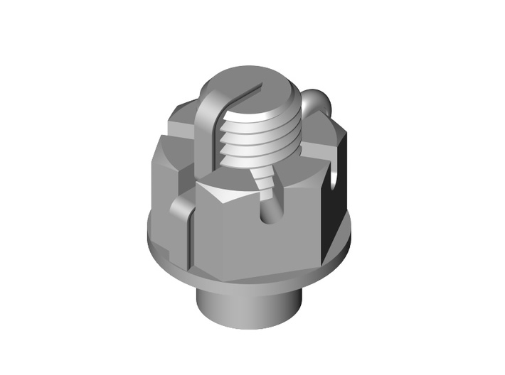 Slotted Nut Set 1:20.3 3d printed