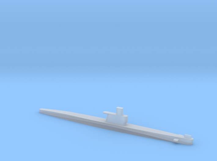 1/2400 Scale Romeo Russian Submarine Waterline 3d printed