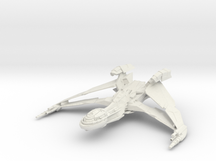 Klingon Raptor Class II Bird of Prey Reift 3d printed