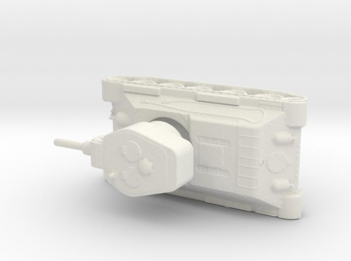 T 34 122 1/144 3d printed