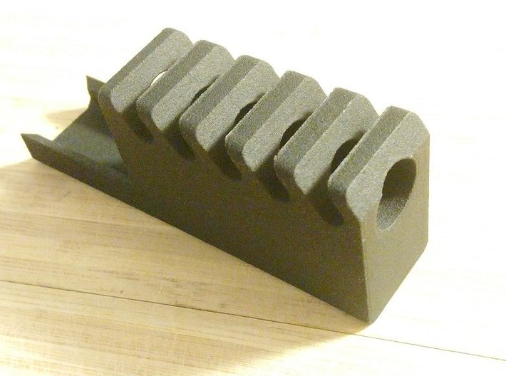 Frame Mounted Airsoft Compensator for G19 3d printed
