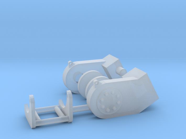 1/50 Small Dozer Winch 3d printed