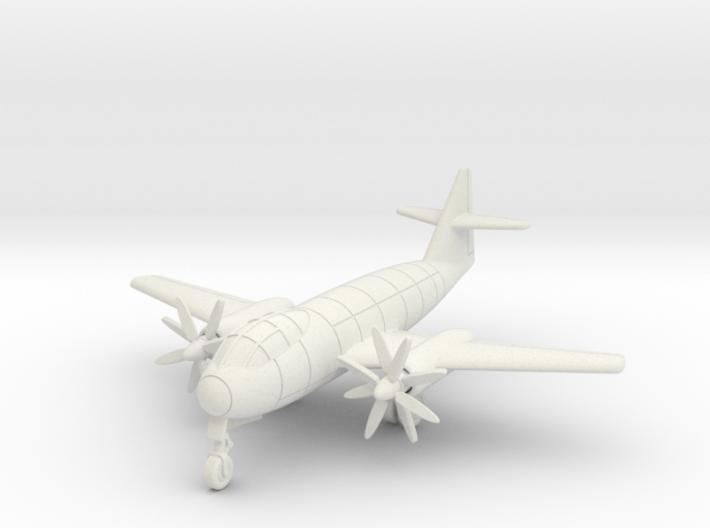 (1:144) Messerschmitt Me P.1099A Turboprop 3d printed