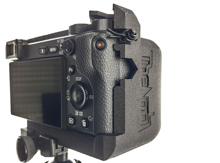 CAMERA GRIP for Sony A6400 3d printed