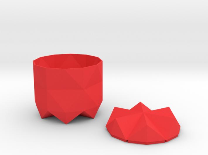 Pot and Lid 3d printed