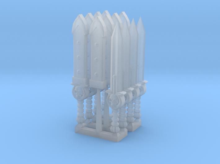ultraranger short sword 3d printed