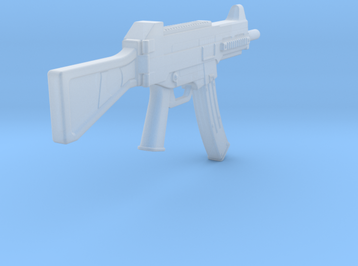 1:6 Miniature PUBG UMP Stock 3d printed