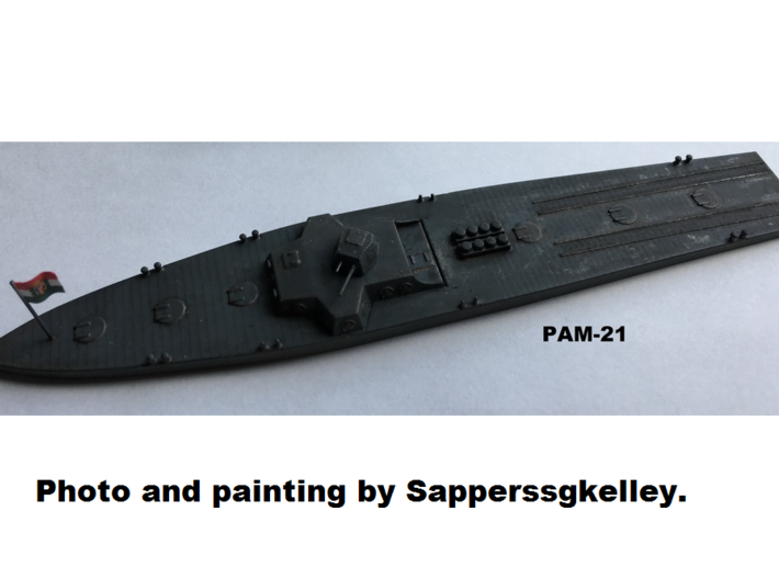 1/144th scale Hungarian Armoured Mine Layer PAM-21 3d printed Photo and painting by Sapperssgkelley.