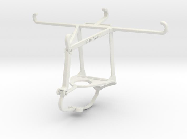 Controller mount for Nimbus & Apple iPhone 8 Plus 3d printed