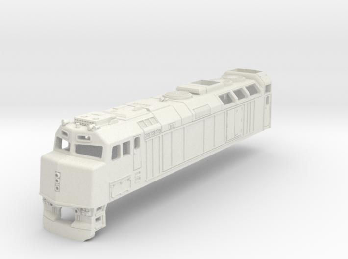 F40 Via Rail Locomotive 3d printed