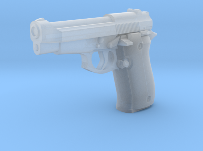 1:3 Miniature Beretta 84F Cheetah 3d printed
