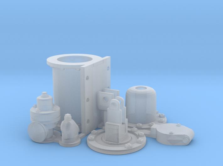 SE westinghouse brake cylinder Kit SW 3d printed