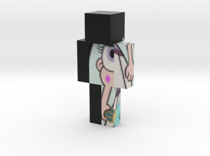 Moon_ID_3 | Minecraft toy 3d printed