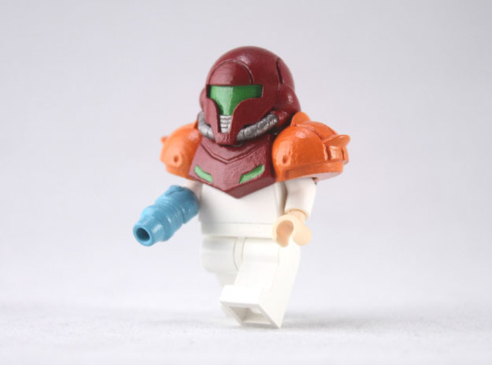 Prime Pack 3d printed Painted Smooth Fine Detail Plastic