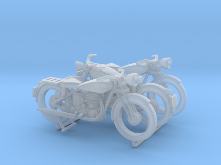 Terrot 500R 1930-1950 (x3) 3d printed