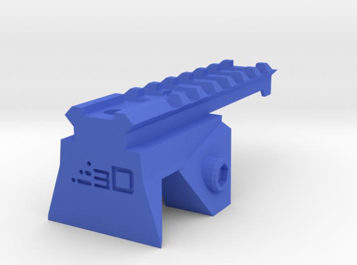 Blasterdizer Top Picatinny Rail (Short) for Stryfe 3d printed