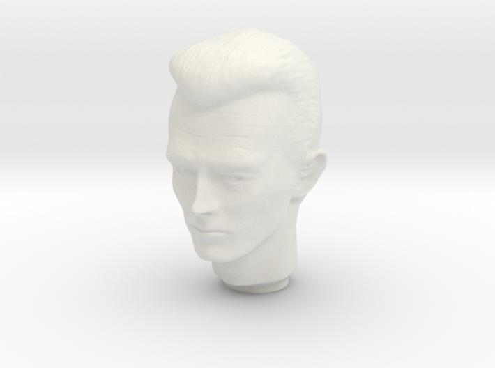1/6 Terminator Head Sculpt for Action Figures 3d printed