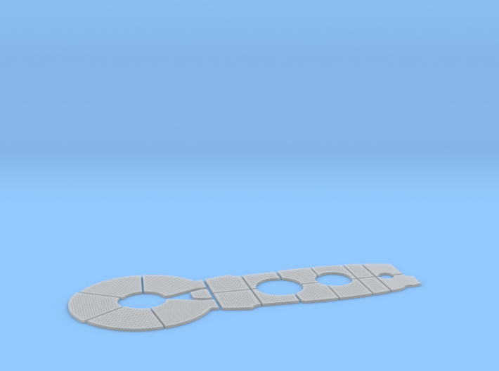 1/32 DKM Uboot VIIC Conning Tower Deck Panel 3d printed