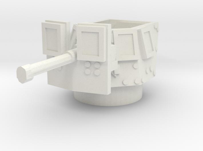 MRAP cougar MG turret 1/87 3d printed
