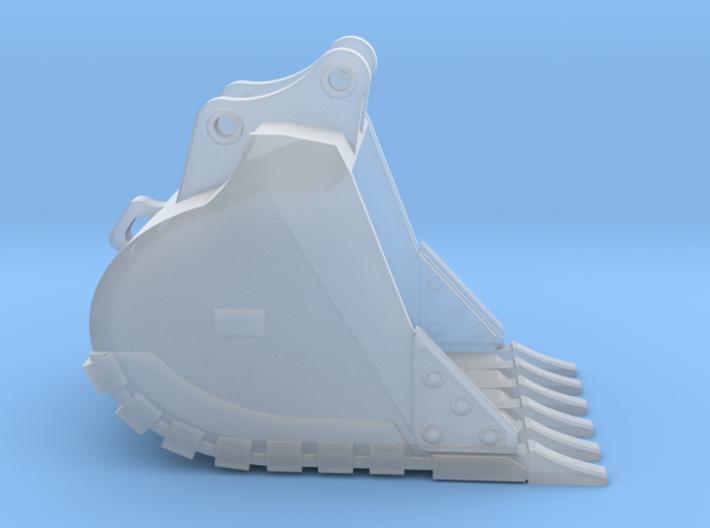 """1:50 48"""" HD Bucket for 20 Ton excavators V2 3d printed"""