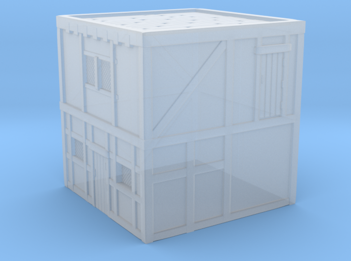Glacier House without stairs (R) 3d printed