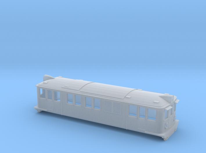 Swedish SJ electric locomotive type D - N-scale 3d printed