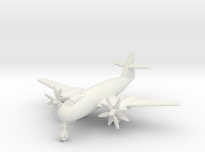 (1:200) Messerschmitt Me P.1100/I Turboprop 3d printed