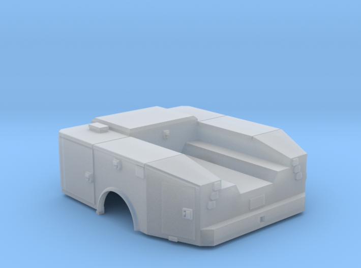Universal Highwayman Truck Bed 1-64 Scale 3d printed