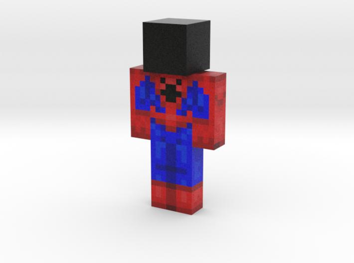 spiderman (1) | Minecraft toy 3d printed