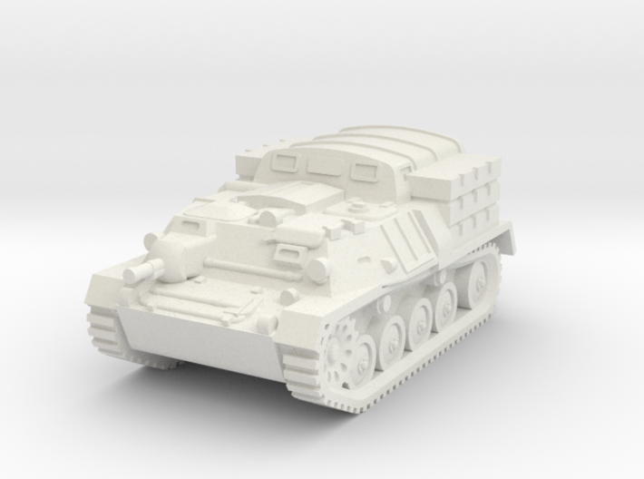 1/100 (15mm) AT-P artillery tractor 3d printed