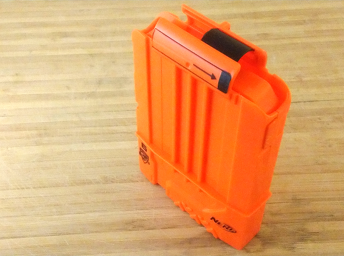 Anti-Jamming Plate (10 Pieces) for Nerf Magazines 3d printed