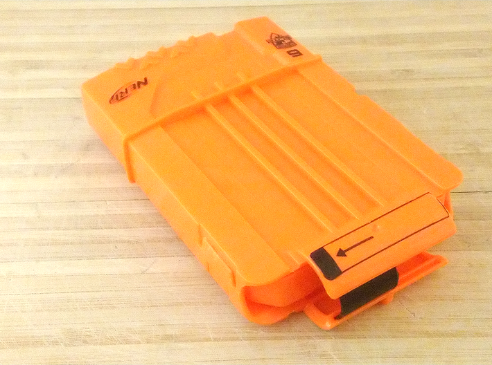 Anti-Jamming Plate (5 Pieces) for Nerf Magazines 3d printed